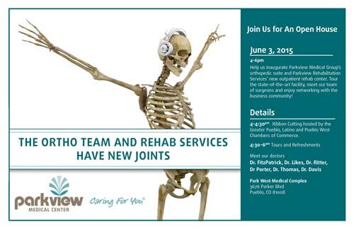 Ortho open house graphic