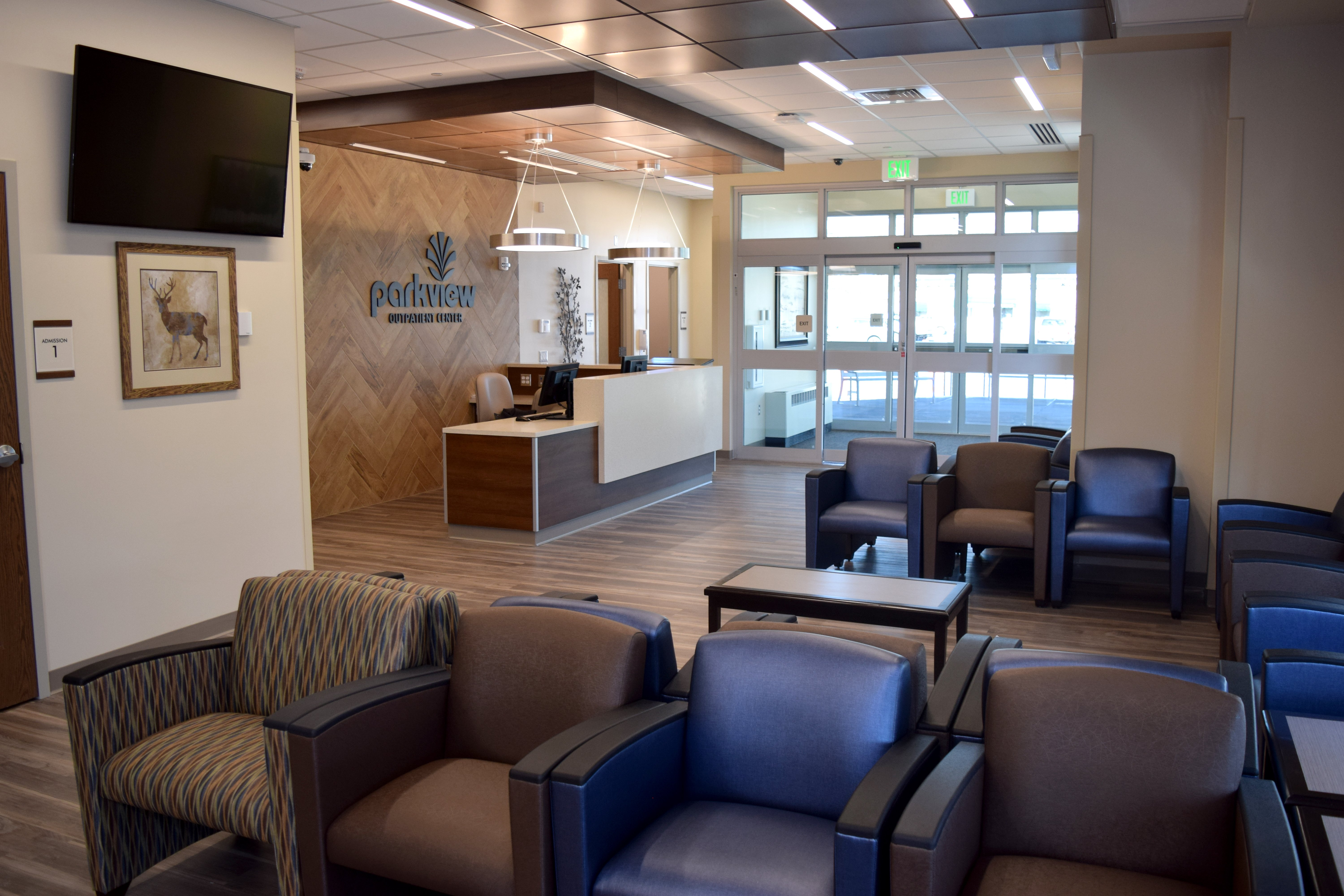 outpatient center waiting room