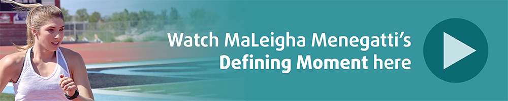 Maleigha Defining Moment Banner